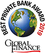 Logo: Best Boutique Private Bank in the World